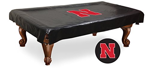 NCAA Nebraska Cornhuskers Billiard Table Cover, 8-Feet - Ncaa Pool Table Cover