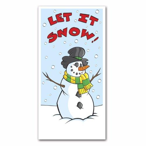 Winter Door Cover Party Accessory (1 count) (1/Pkg) ()