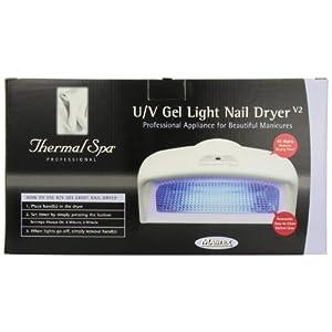 Thermal Spa 49135 Professional u v Gel Light Nail Dryer