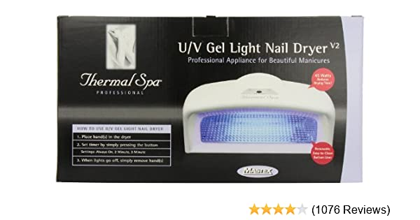 Amazon thermal spa uv auto gel light nail dryer uv nail lamp amazon thermal spa uv auto gel light nail dryer uv nail lamp beauty solutioingenieria Image collections