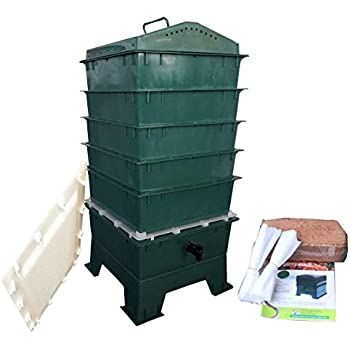 Amazon.com : Worm Factory 360 WF360T Worm Composter ...