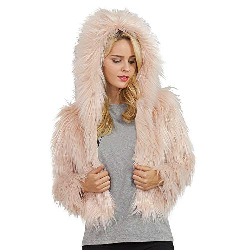 DEATU Womens Hooded Coats, Ladies Autumn Winter Warm for sale  Delivered anywhere in USA