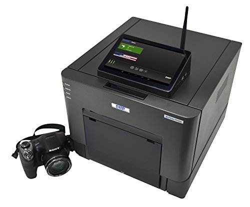 DNP IDW500 Passport and ID Photo Solution Set, Includes IDW-SH30 Sony Camera, FlashAir Card, Touchscreen Monitor, and ID Photo Printer by DNP