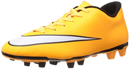 (Nike Mercurial Vortex Ii Fg Mens Football Boots 651647 Soccer Cleats (US 12, Laser Orange White Black Volt 800))
