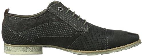 Bugatti 312110011500, Zapatos de Cordones Derby para Hombre Schwarz (Schwarz 1000)