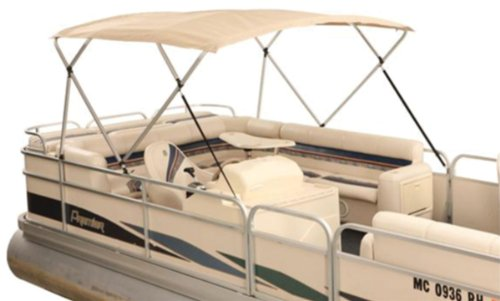 Attwood 10380 8' Traditional Square Tube for 4-Bow Bimini Top Pontoon (Bow Square Tube Bimini Tops)