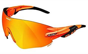 SH + RG 5200, lunettes Mixte adulte M Graphite/Revo Laser Rosso