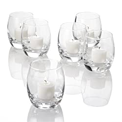 Eastland® Grande Hurricane Votive Holders Clear Set of 72