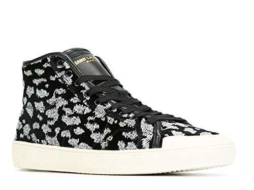 Saint Laurent Zapatillas Para Hombre Blanco/Negro It - Marke Größe