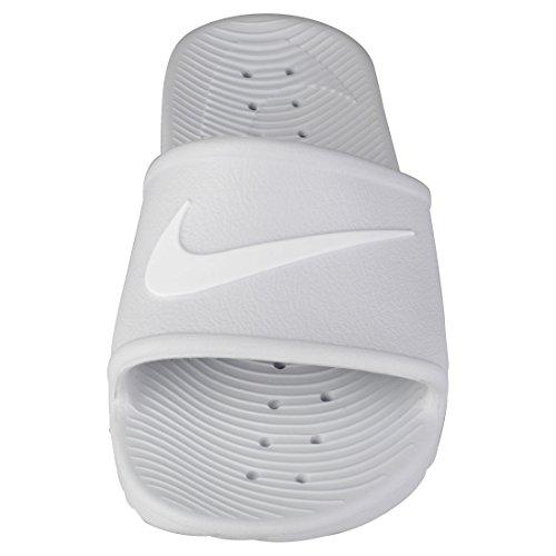 Plage et de Piscine 43 Femme Kawa Shower Pure Nike EU White Platinum Gris WMNS Chaussures 010 0x4qXxIY