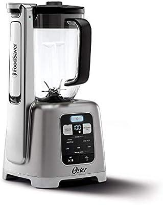 Oster BLSTAB-CB0-000 Licuadora con tecnología de aspiradora, níquel cepillado (enchapado): Amazon.es: Hogar