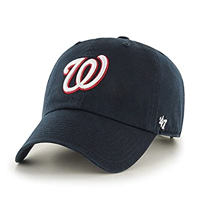 Washington Nationals Adjustable Clean Up Hat by '47 Brand from '47