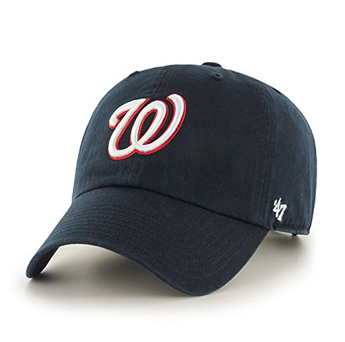 Washington Nationals Adjustable Clean Up Hat by '47 Brand