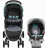 Graco FastAction Fold Click Connect Travel System - Car Seat Stroller Combo - Affinia