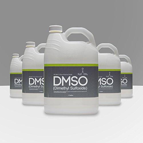 5 Gallon 99.995% Pharma Grade Dimethyl Sulfoxide, BPA Free, Low Odor, Non Diluted