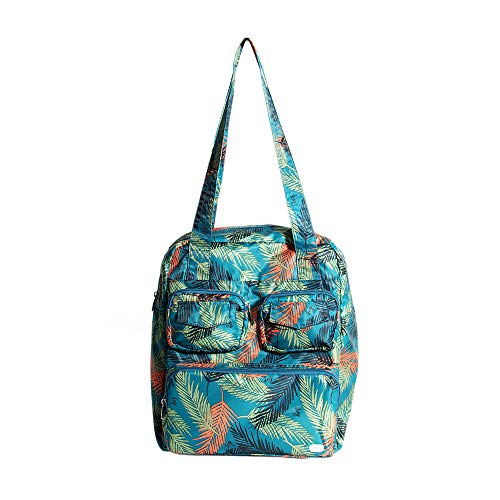 Lug Women's Puddle Jumper Packable Duffel Bag, Tropical Ocean, One Size