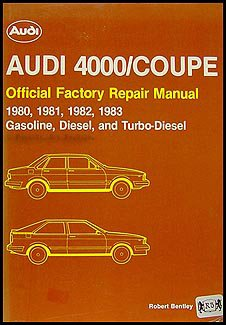 1980-1983 4000 and Audi Coupe Bentley Repair Shop ()