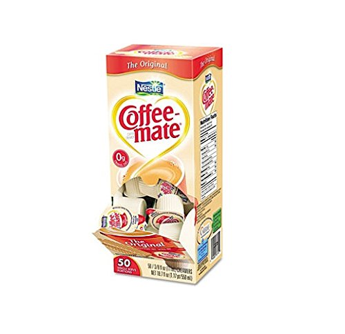 Nestle Coffee-mate Liquid Creamer Original 3-pack;50 Count Each.