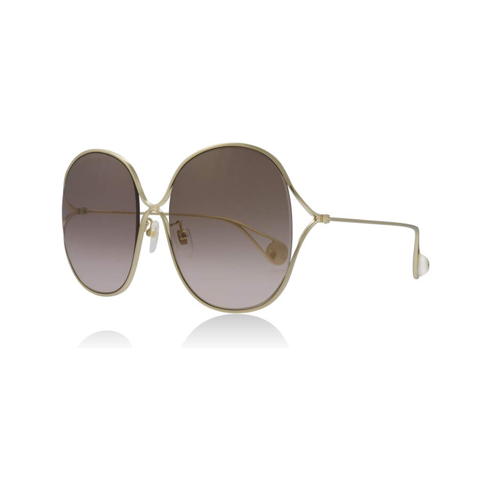 cc82445a20 Amazon.com  Gucci GG0362S 002 Gold GG0362S Square Sunglasses Lens Category  2 Size 57mm  Gucci  Clothing
