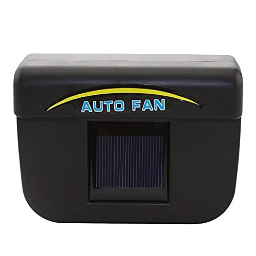 PinShang Solar Powered Car Window Air Vent Cool Fan Auto Cooler Ventilation System Air Vent Exhaust Heat Fan small