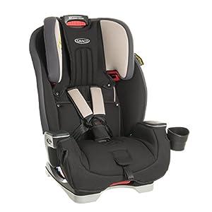 Graco Milestone All-in-One Car Seat, Group 0+/1/2/3, Aluminium