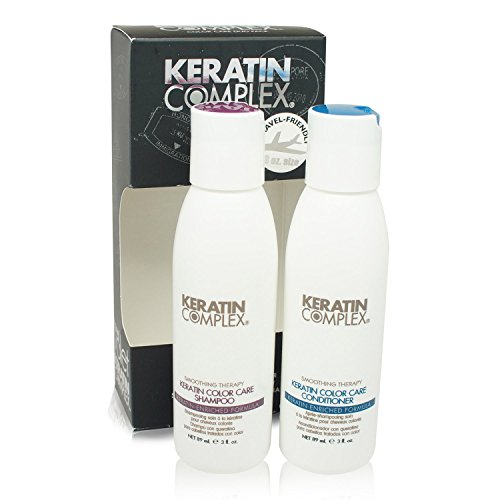 Keratin Complex Keratin Color Care Travel Set: Shampoo and Conditioner (3 Oz Each)