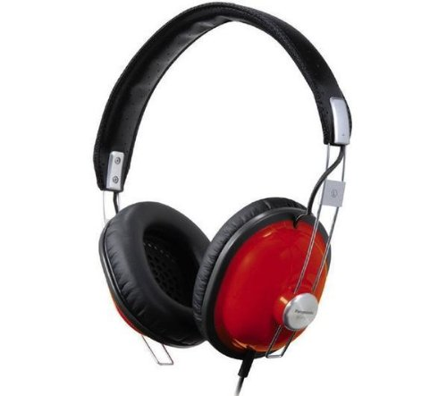 (Panasonic- Rp-htx7 Headphones - Red + 3.5 Mm Jack)
