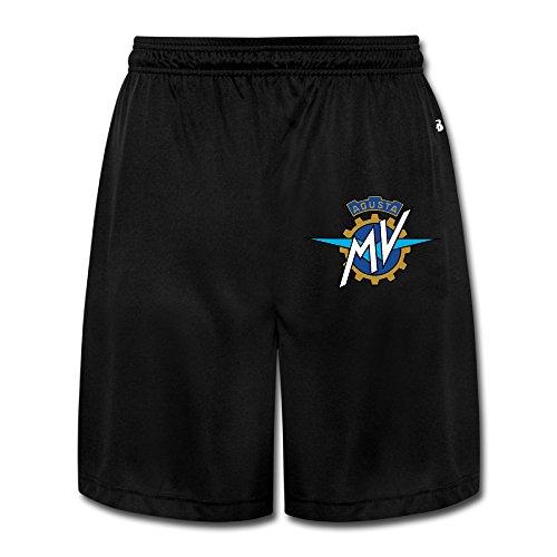 NImao Men's MV Agusta Motorcycle Logo Shorts Sweatpants