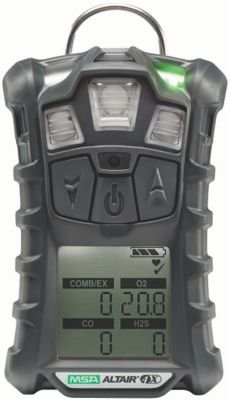 MSA 10107602 ALTAIR 4X Gas Detector, Charcoal, LEL, O2, CO, ()