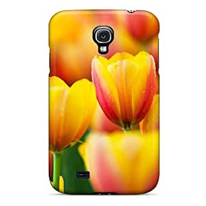 Ideal Dana Lindsey Mendez Case Cover For Galaxy S4(a Lovely Field Of Beautiful Tulips), Protective Stylish Case