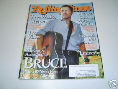 Download BRUCE SPRINGSTEEN ISSUE # 903 --ROLLING STONE MAGAZINE---AUGUST 22ND, 2002 PDF