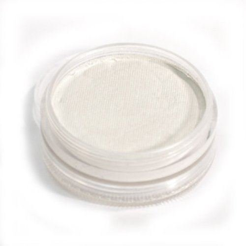 Wolfe Face Paints - Metallic White M01 (1.59 oz/45 gm) - Hydrocolor Makeup