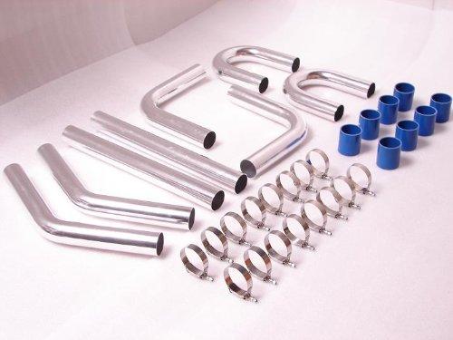 Universal Aluminum Intercooler Pipe Kit 2.5