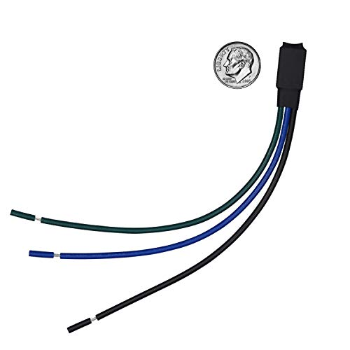 Switch Interface Cable (Bypass Parking Brake Switch Override Video in Motion Interface Fully Automatic Compatible with Pioneer Stereo Radio DVD Receivers - fits All Pioneer AVH, AVH-P, AVH-X, MVH, and DVH Video Units)