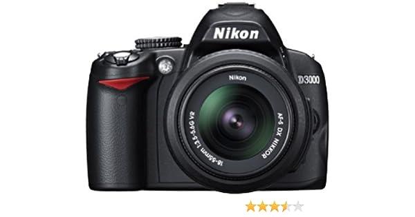 Nikon D3000 - Cámara Réflex Digital 10.2 MP (Objetivo 55-200 VR ...