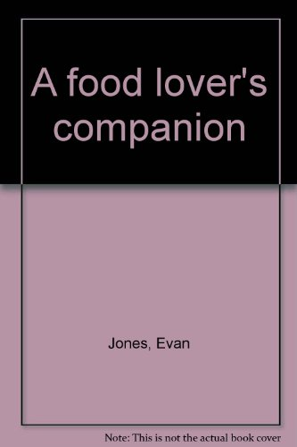 A food lover's companion