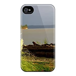 Awesome No.5 Case Defender Tpu Hard Case Cover For Iphone 4/4s- Camano Isl Seagaulls by ruishername