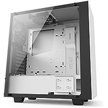 NZXT S340VR Elite Computer Case , Matte White (CA-S340W-W2)