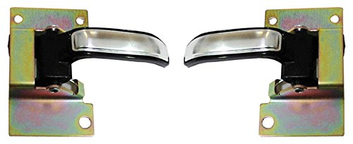 Inside Interior Door Handle Pair Set for Chevy GMC Pickup Truck ()