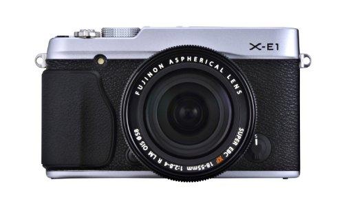 フジフイルム XE1 シルバー レンズキット XF 1855mm F2.84 R LM OIS