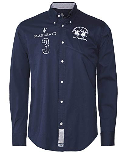 La Martina Men's Regular Fit Ollolai Shirt Navy XL for sale  Delivered anywhere in USA