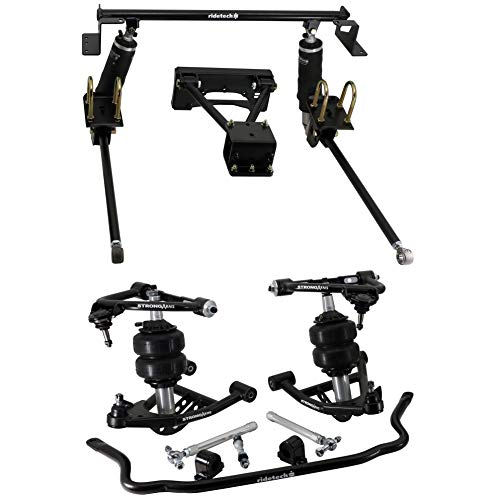 NEW RIDETECH AIR SUSPENSION SYSTEM,HQ SERIES SHOCKWAVES,TRUTURN STEERING,FRONT MUSCLEBAR,STRONGARMS,REAR WISHBONE,COMPATIBLE WITH 1982-2003 CHEVROLET S10,S15 & GMC SONOMA TRUCKS,7.5