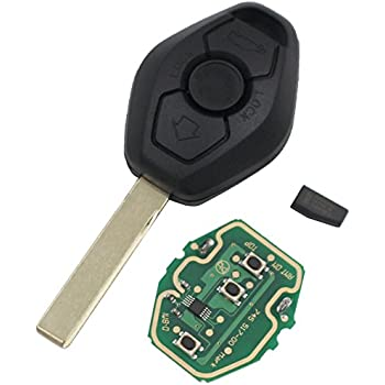 Amazon.com: Ecusells Folding Flip Remote Key Fob for BMW Z3 ...