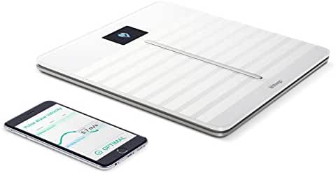 Withings Body Cardio - Heart Health and Body Composition Wi-Fi Scale, White