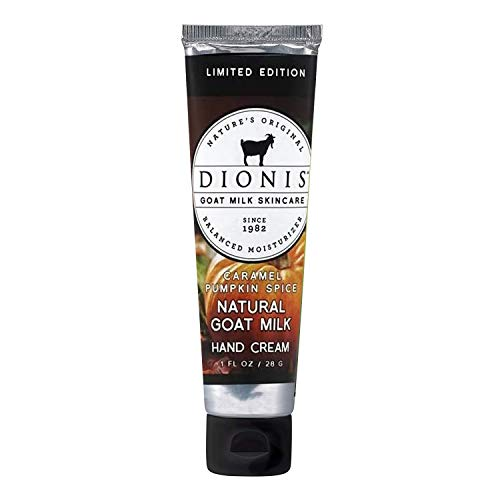 Dionis Hand & Body Cream 3.3 oz, Caramel Pumpkin Spice