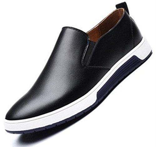 48 Inghilterra Uomo Grande Nero Pelle casuale PU Uomini stile scarpe Extra scamosciato Bebete5858 particolarmente Dimensione q7BxUTfnIw