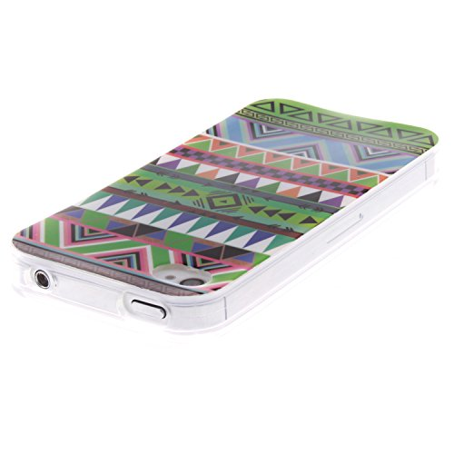 iPhone 4/4s Funda,Ligero a Prueba de Choques Flexible Ultra Fino Suave TPU Parachoque Carcasa MAGQI Tecnología IMD Diseño Impreso Vendimia Serie Patrón [Absorción de Impacto] Resistente a los Arañazos Patrón Nacional