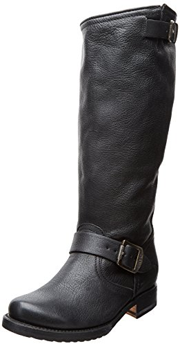 Amazon.com | FRYE Women's Veronica Slouch Boot: Wide Calf | Mid-Calf