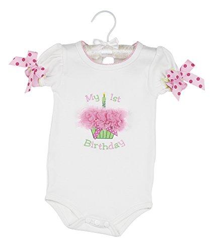 Bearington Baby Her 1st Birthday Onesie -