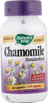 Nature's Way Chamomile Standardized -- 60 Capsules